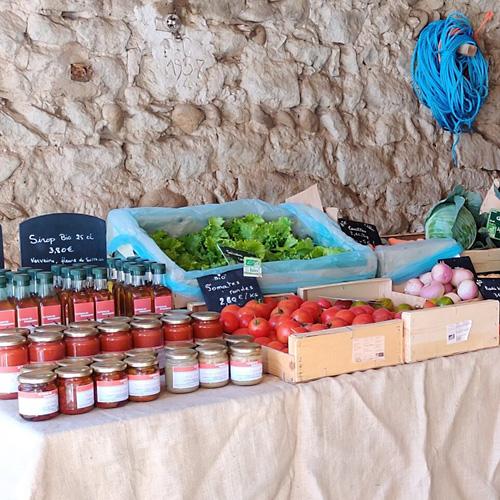 marché bio, produits bio, légumes bio